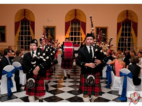 2012 Mustang Scholars Man of the Year - Bagpipes -5