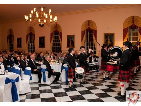 2012 Mustang Scholars Man of the Year - bagpipes -3