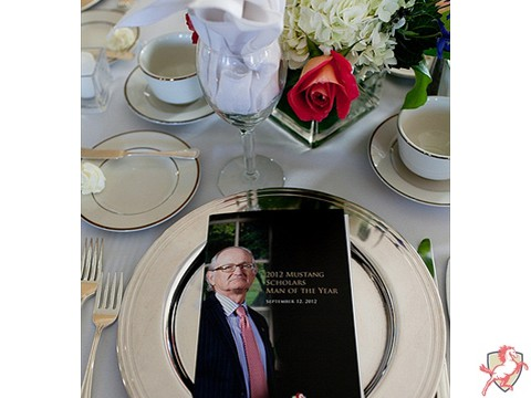 2012 Mustang Scholars Man of the Year - Table Setting -2