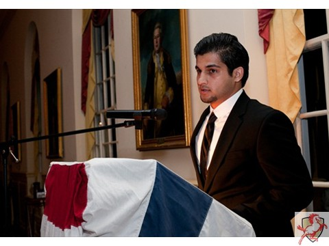 2012 Mustang Scholars Man of the Year - Speech Former cadet