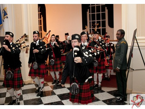 2012 Mustang Scholars Man of the Year - Bagpipes -1